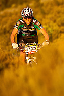 VILLIERSDORP, SOUTH AFRICA -Alison Sydor during stage two of the Absa Cape Epic Mountain Bike Stage Race held in Villiersdorp on the 23 March 2009 in the Western Cape, South Africa..Photo by Sven Martin  /SPORTZPICS