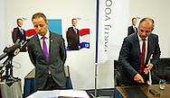 PRESENTATIE WILDERS EN OPSTAPPEN VAN Marcial Hernandez en Wim Kortenoeven