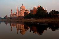 The Taj Mahal, Uttar Pradesh, Mughal monument in Agra, India Image by Andres Morya