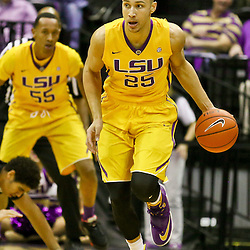 Feb 13, 2016; Baton Rouge, LA, USA; LSU Tigers forward Ben Simmons (25) during the first half of a game against the Texas A&M Aggies at the Pete Maravich Assembly Center. Mandatory Credit: Derick E. Hingle-USA TODAY Sports