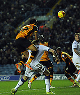 Ahmed Elmohamady of Hull City scores his goal during the Sky Bet Championship match at Elland Road, Leeds<br /> Picture by Graham Crowther/Focus Images Ltd +44 7763 140036<br /> 05/12/2015