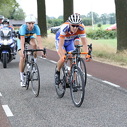 29-09-2016: Wielrennen: Olympia Tour: Gendringen<br />GENDERINGEN (NED) wielrennen  <br />Wessle Zennipman (Zutphen) in de aanval kreeg met zijn groep maximaal 20 seconden voorsprong