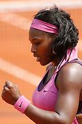 Roland Garros. Paris, France. June 3rd 2007..Serena WILLIAMS against Dinara SAFINA.