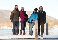 Pam Markley family portrait session.  ©2014 Karen Bobotas Photographer