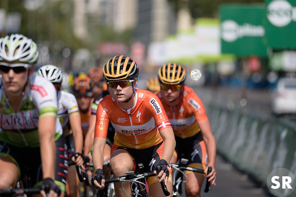 Amalie Dideriksen (Boels Dolmans) at Madrid Challenge by La Vuelta an 87km road race in Madrid, Spain on 11th September 2016.