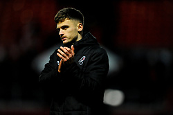 Jamie Paterson of Bristol City celebrates at the final whistle -Mandatory by-line: Nizaam Jones/JMP - 18/01/2020 - FOOTBALL - Ashton Gate - Bristol, England - Bristol City v Barnsley - Sky Bet Championship
