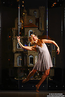 Dance As Art New York City Photography Project Astolat Castle Series with dancer,