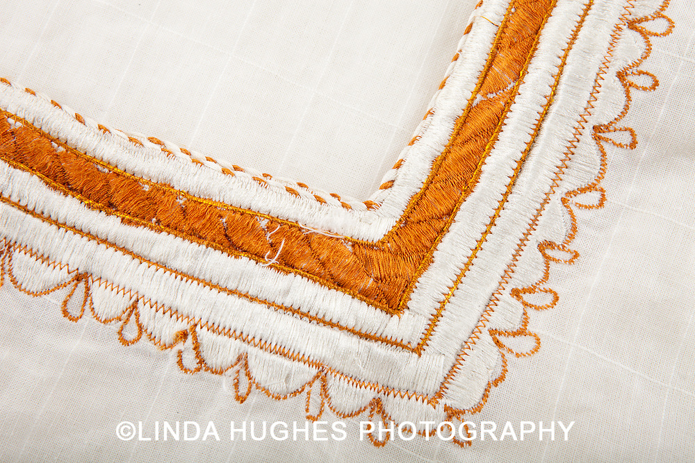 African Fabric Close-up