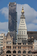 New York: one madisson tower and the metropolitan life building view from union square