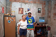 Rafael Teixeira and his mum, Complexo do Alemão 2006.<br />