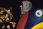 SPAIN /  La Rioja / Santo Domingo de la Calzada.    Medieval recreations in Spain. This village celebrates every December a Medieval market. ....