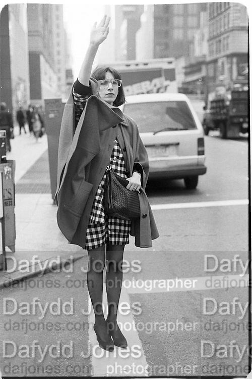 Diane Tisma, New York 1994© Copyright Photograph by Dafydd Jones 66 Stockwell Park Rd. London SW9 0DA Tel 020 7733 0108 www.dafjones.com