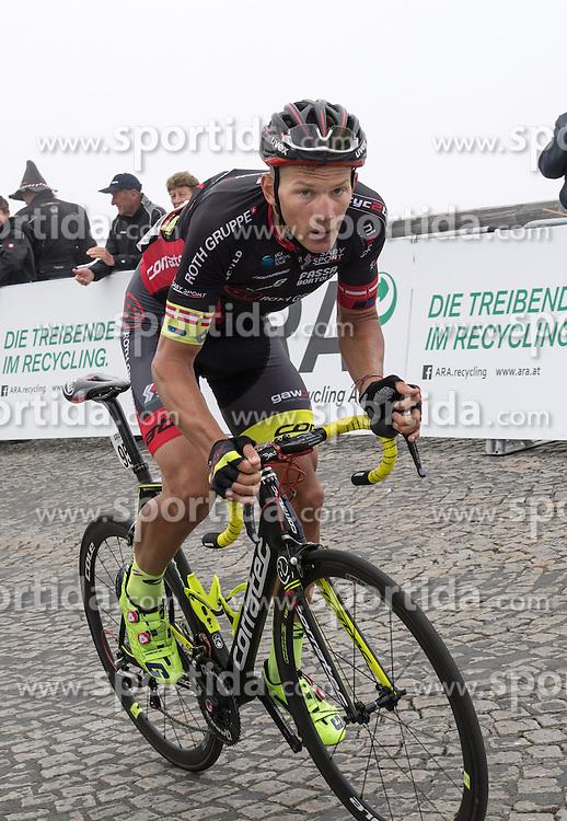 06.07.2016, Heiligenblut, AUT, Ö-Tour, Österreich Radrundfahrt, 4. Etappe, Rottenmann zur Edelweissspitze, im Bild Matthias Krizek (AUT, Team Roth) // Matthias Krizek (AUT, Team Roth) during the Tour of Austria, 4th Stage from Rottenmann to Edelweissspitze. Heiligenblut, Austria on 2016/07/06. EXPA Pictures © 2016, PhotoCredit: EXPA/ Reinhard Eisenbauer