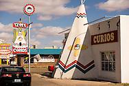 Historic Route 66, Tucumcari, New Mexico, Tepee Curios