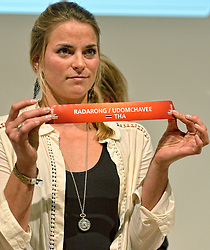 30-03-2015 NED: FIVB Drawing WCH Beach Volleyball, The Hague<br /> The Drawing of Lots for the FIVB Beach Volleyball World Championships The Netherlands 2015 will take place at the Mauritshuis art museum / Jantine van der Vlist
