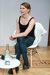 October 1, 2018 - London, London, United Kingdom - Former United States army soldier and whistle blower Chelsea Elizabeth Manning in Conversation with James Bridle at the Royal Institution as part of an ICA event. Manning is a guest of honour at their annual dinner. London, United Kingdom, 01 October 2018. (Credit Image: © Ray Tang/ZUMA Wire)