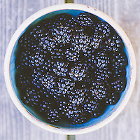 Blackberries from the Oregon coast.