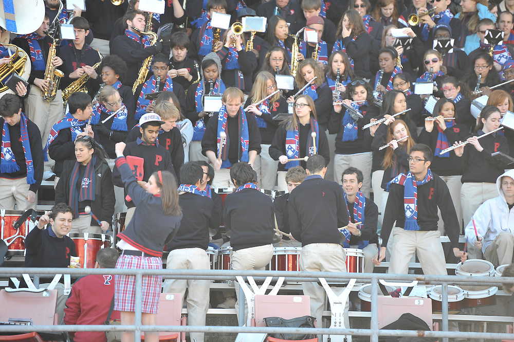 Philadelphia, PA: Princeton at Penn homecoming at Franklin Field on November 5, 2011.