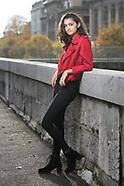 blouson rouge