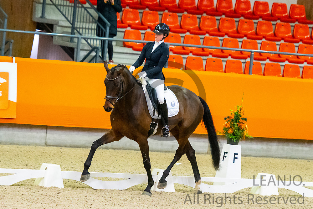 Joyce van Opbergen - Jenna Verina<br /> KNHS Indoorkampioenschappen 2020<br /> © DigiShots