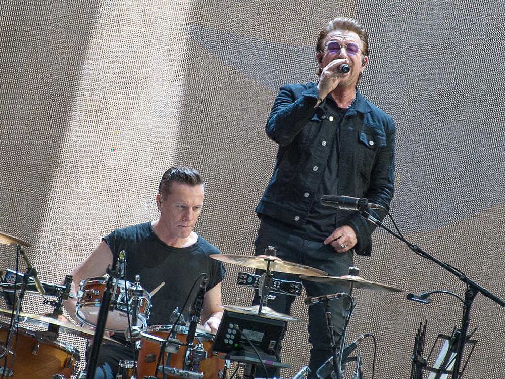 U2 perform The Joshua Tree in full at Twickenham Stadium 9th July 2017