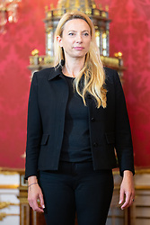 28.05.2019, Praesidentschaftskanzlei, Wien, AUT, Angelobung des interimistischen Bundeskanzler Hartwig Loeger und der Uebergangsregierung durch den Bundespräsidenten, im Bild Juliane Bogner-Strauß (OeVP)// during commendation of the interim Chancellor Hartwig Loeger and the transitional government by the Federal President at the Federal Presidents Office in Vienna, Austria on 2019/05/27, EXPA Pictures © 2019, PhotoCredit: EXPA/ Florian Schroetter