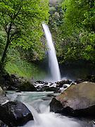 The very beautiful La Fortuna Waterfall, near La Fortuna, Alajuela, Costa Rica.