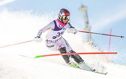 35# Zelenkova Simona from Czech Republic during the slalom of National Championship of Slovenia 2019, on March 24, 2019, on Krvavec, Slovenia. Photo by Urban Meglic / Sportida