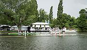 Henley Royal Regatta, Henley on Thames, Oxfordshire, 29 June-3 July 2015.  Saturday  12:13:16   02/07/2016  [Mandatory Credit/Intersport Images]<br /> <br /> Rowing, Henley Reach, Henley Royal Regatta.<br /> <br /> The Wyfold Challenge Cup<br /> The Tideway Scullers' School 'A' v Grasshopper-Club, Zürich, Switzerland
