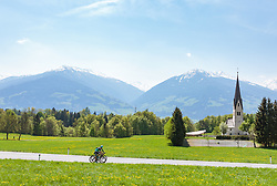 25.04.2018, Gnadenwald, AUT, ÖRV Trainingslager, UCI Straßenrad WM 2018, im Bild Feature Rad WM // during a Testdrive for the UCI Road World Championships in GNADENWALD, Austria on 2018/04/25. EXPA Pictures © 2018, PhotoCredit: EXPA/ JFK