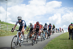 Ellen van Dijk (NED) of Trek-Segafredo leans into a corner on Stage 2 of 2019 OVO Women's Tour, a 62.5 km road race starting and finishing in the Kent Cyclopark in Gravesend, United Kingdom on June 11, 2019. Photo by Balint Hamvas/velofocus.com