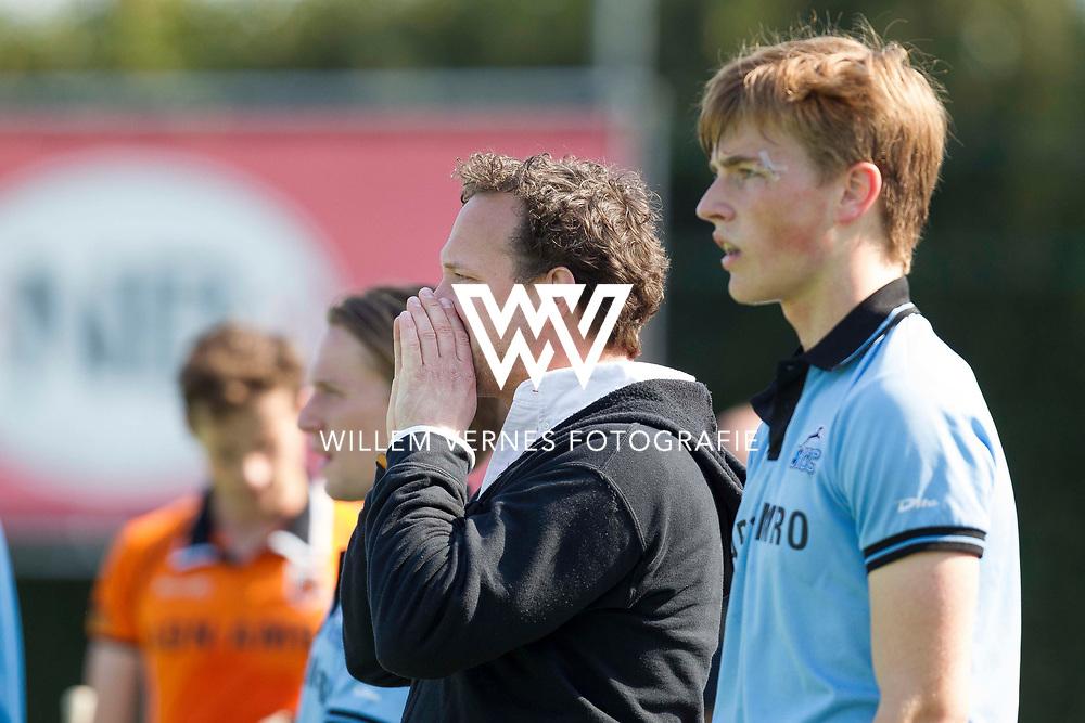 Eindhoven - OZ - HGC Heren, Hoofdklasse Hockey Heren, Seizoen 2015-2016, 01-05-2016, OZ - HGC 3-0, Jan Jorn van 't Land.