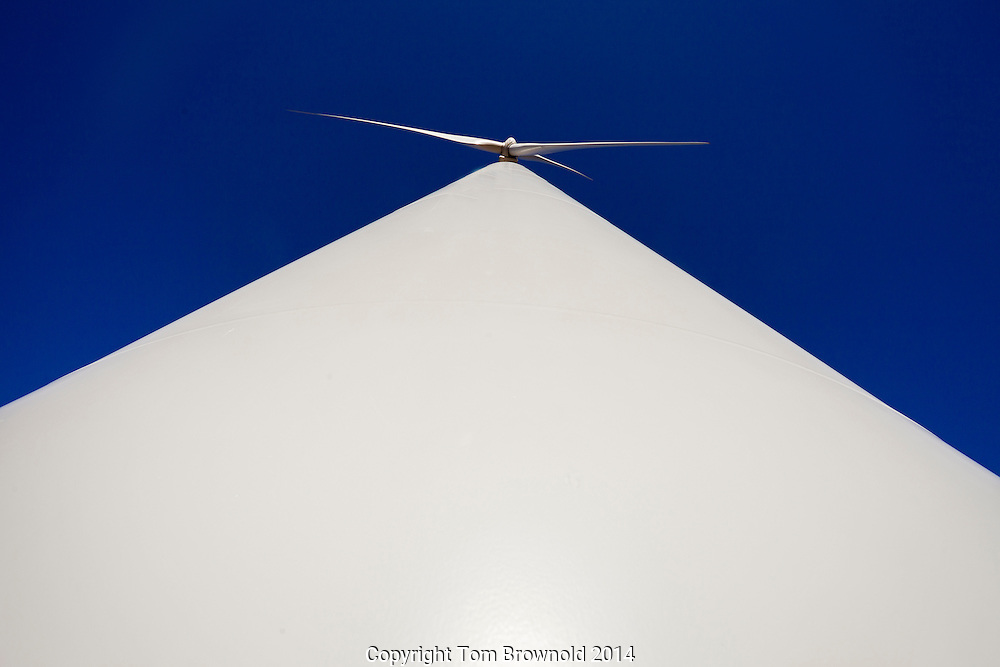 Wind generating electricity