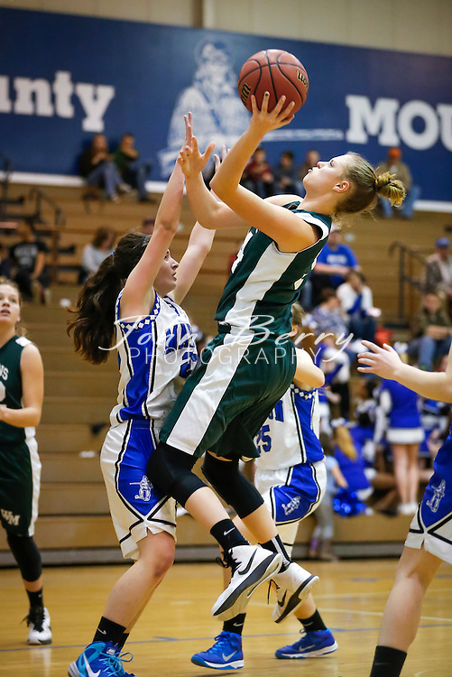 January 22, 2015.  <br /> MCHS JV Girls Basketball vs William Monroe. Eighth grader Samantha Brunelle scored 38 points.