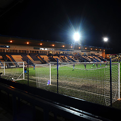 TELFORD COPYRIGHT MIKE SHERIDAN A general view of the New Bucks head during the FA Trophy Round 1 fixture between AFC Telford United and Leamington at the New Bucks head Stadium on Tuesday, December 17, 2019.<br /> <br /> Picture credit: Mike Sheridan/Ultrapress<br /> <br /> MS201920-034