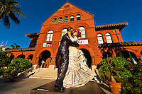 The Key West Museum of Art & History (by Mallory Square), Key West, Florida Keys, Florida USA