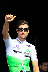 Bernhard Eisel (AUT) Team Dimension Data at sign on before the 2019 E3 Harelbeke Binck Bank Classic 2019 running 203.9km from Harelbeke to Harelbeke, Belgium. 29th March 2019.<br /> Picture: Eoin Clarke | Cyclefile<br /> <br /> All photos usage must carry mandatory copyright credit (© Cyclefile | Eoin Clarke)