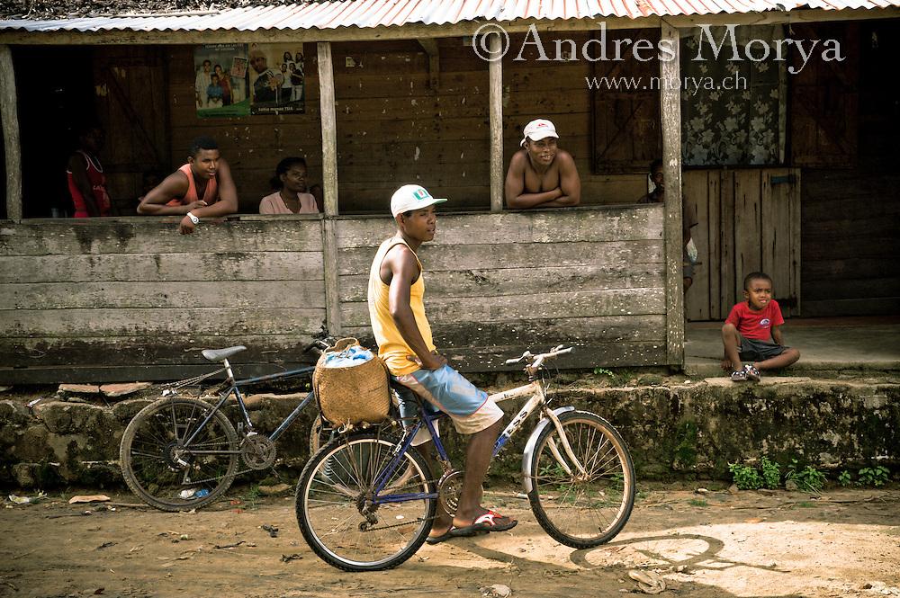Malagasy man, Mananara, Madagascar Image by Andres Morya