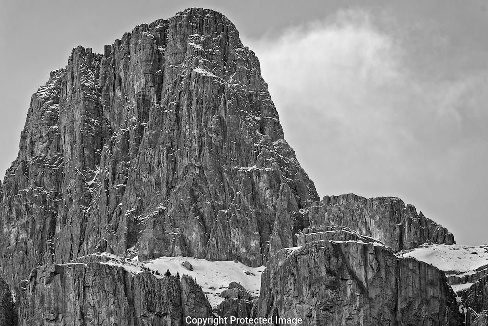 Castle Mountain.., Alberta, Canada, Isobel Springett