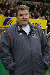 FRANKFURT, GERMANY - Wednesday, November 21, 2007: Wales' manager John Toshack before the final UEFA Euro 2008 Qualifying Group D match against Germany at the Commerzbank Arena. (Pic by David Rawcliffe/Propaganda)