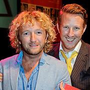 NLD/Amsterdam/20120911- Presentatie DVDbox 125 jaar Carre, Ashton Brothers, Pepijn Gunneweg en Pim Muda