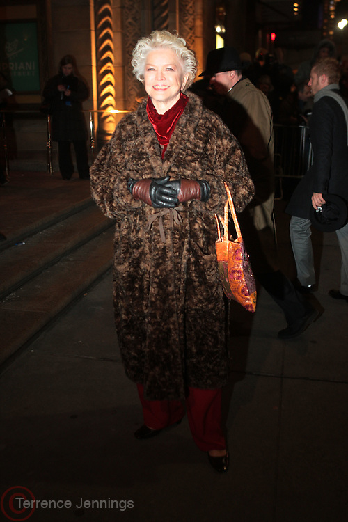 12 January 2010-New York, NY- Ellen Burstyn at The National Board of Review of Motion Pictures Awards Gala (Outside Arrivals) held at Cipriani 42nd Street on January 12, 2010 in New York City. Photo Credit: Terrence Jennings/Sipa