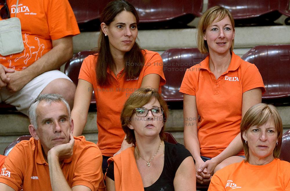23-09-2014 ITA: World Championship Nederland - Kazachstan, Verona<br /> Nederland wint de opening wedstrijd met 3-0 / Joelle Staps