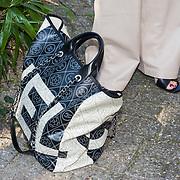 NLD/Amsterdam/20190408 - Inloop award uitreiking, Chanel tas van Leontien Borsato