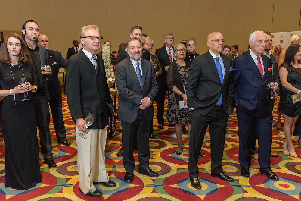 Guests appear at the VIP and sponsor reception before the red carpet at the fourth annual Muhammad Ali Humanitarian Awards Saturday, Sept. 17, 2016 at the Marriott Hotel in Louisville, Ky. (Photo by Brian Bohannon for the Muhammad Ali Center)