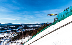 18.03.2018, Vikersundbakken, Vikersund, NOR, FIS Weltcup Ski Sprung, Raw Air, Vikersund, Finale, im Bild Evgeniy Klimov (RUS) // Evgeniy Klimov of Russian Federation during the 4th Stage of the Raw Air Series of FIS Ski Jumping World Cup at the Vikersundbakken in Vikersund, Norway on 2018/03/18. EXPA Pictures © 2018, PhotoCredit: EXPA/ JFK