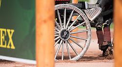 Gerts Schrijvers, (BEL), El Fiero, Giganta A, Onyx, Replay, Victor K - Driving Marathon - Alltech FEI World Equestrian Games™ 2014 - Normandy, France.<br /> © Hippo Foto Team - Jon Stroud<br /> 06/09/2014