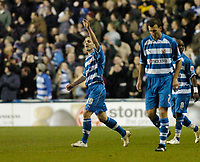 Photo: Leigh Quinnell.<br /> Reading v Southampton. Coca Cola Championship. 10/02/2006. Readings Kevin Doyle celebrates his goal.