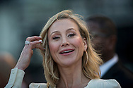 HALLANDALE BEACH, FL - JANUARY 27: Belinda Stronach at the second running of the Pegasus World Cup Invitational at Gulfstream Park Race Track on January 27, 2018 in Hallandale Beach, Florida. (Photo by Alex Evers/Eclipse Sportswire/Getty Images)
