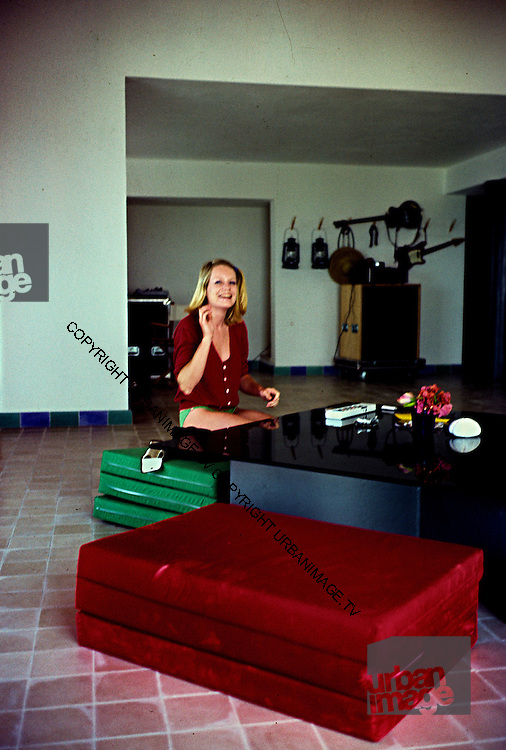 Tina Weymouth at home in the Bahamas